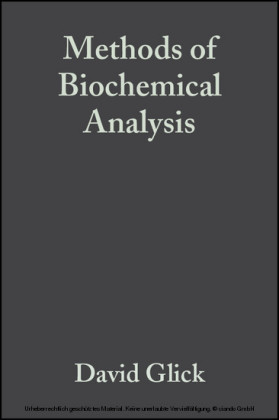 Methods of Biochemical Analysis