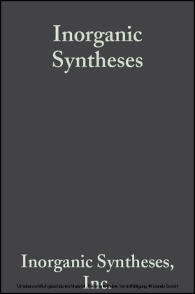 Inorganic Syntheses