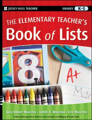 The Elementary Teacher's Book of Lists,