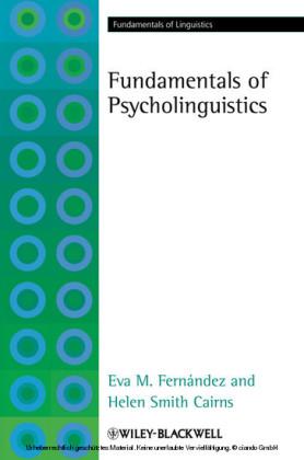 Fundamentals of Psycholinguistics