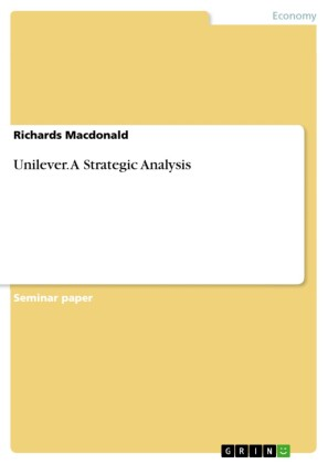 Unilever. A Strategic Analysis