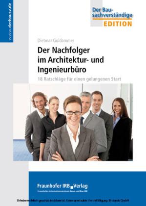Der Nachfolger im Architektur- und Ingenieurbüro.