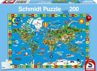 Deine bunte Erde (Kinderpuzzle)