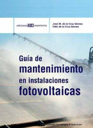 Guía de mantenimiento de instalaciones fotovoltaicas