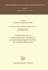 Rechtschreibtraining mit rechtschreibschwachen Hauptschülern auf kognitionspsychologischer Grundlage: Eine empirische Un