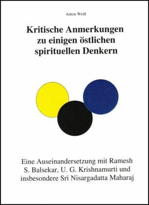 Kritische Anmerkungen zu spirituellen Denkern