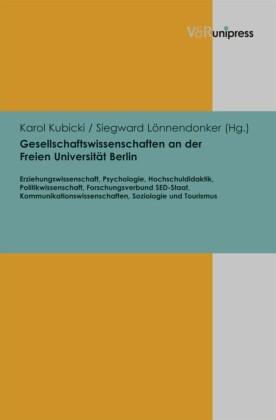 Gesellschaftswissenschaften an der Freien Universität Berlin
