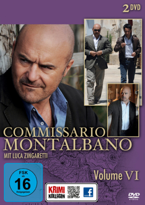 Commissario Montalbano, 2 DVDs