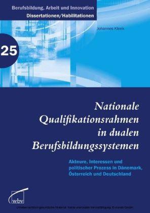 Nationale Qualifikationsrahmen in dualen Berufsbildungssystemen