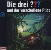 Die drei ??? und der verschollene Pilot, 1 Audio-CD Cover