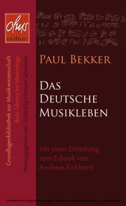 Das deutsche Musikleben