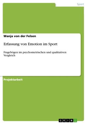 Erfassung von Emotion im Sport