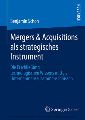 Mergers & Acquisitions als strategisches Instrument