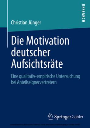 Die Motivation deutscher Aufsichtsräte