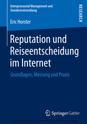 Reputation und Reiseentscheidung im Internet