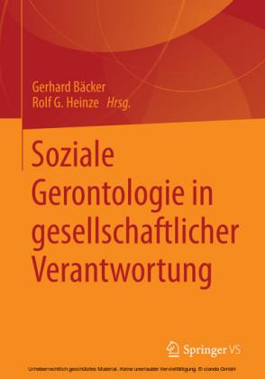 Soziale Gerontologie in gesellschaftlicher Verantwortung
