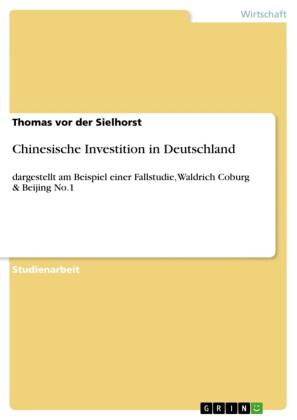 Chinesische Investition in Deutschland