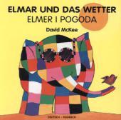 Elmar und das Wetter, deutsch-polnisch;Elmer I Pogoda