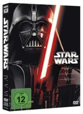 Star Wars Trilogie 4-6, 3 DVDs Cover