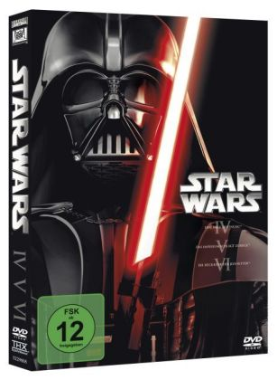 Star Wars Trilogie 4-6, 3 DVDs