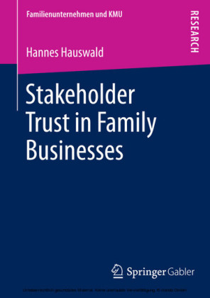 Stakeholder Trust in Family Businesses