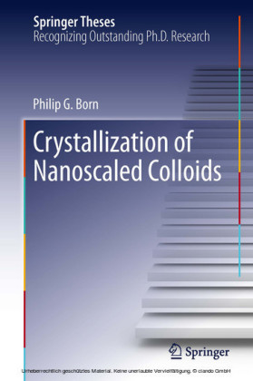 Crystallization of Nanoscaled Colloids