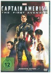Captain America - The First Avenger, 1 DVD Cover