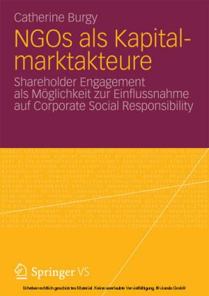 NGOs als Kapitalmarktakteure