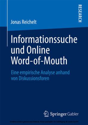 Informationssuche und Online Word-of-Mouth