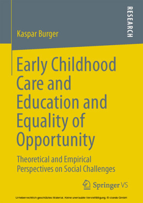 Early Childhood Care and Education and Equality of Opportunity