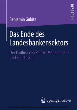 Das Ende des Landesbankensektors