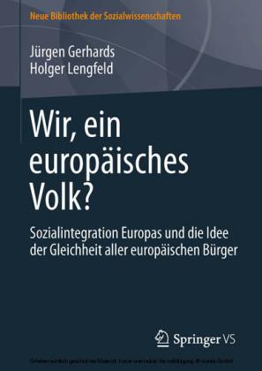 Wir, ein europäisches Volk?