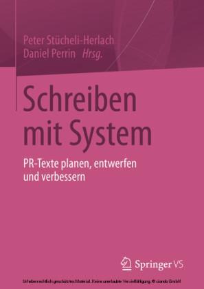 Schreiben mit System
