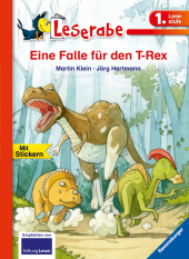 Eine Falle für den T-Rex Cover