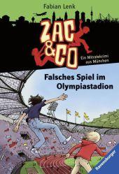 Zac & Co - Falsches Spiel im Olympiastadion Cover