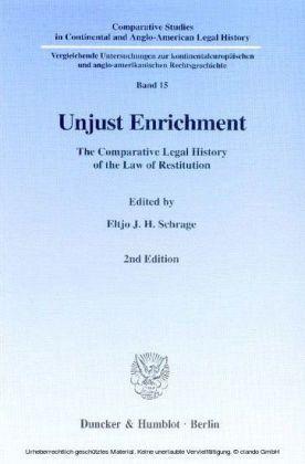 Unjust Enrichment.