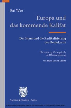 Europa und das kommende Kalifat.