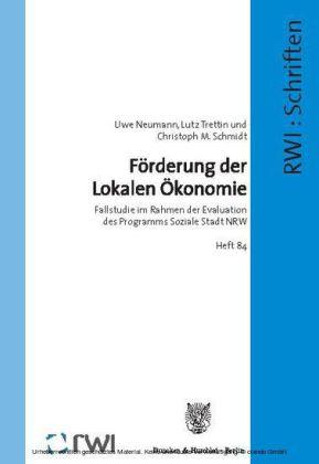 Förderung der Lokalen Ökonomie.