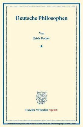 Deutsche Philosophen.