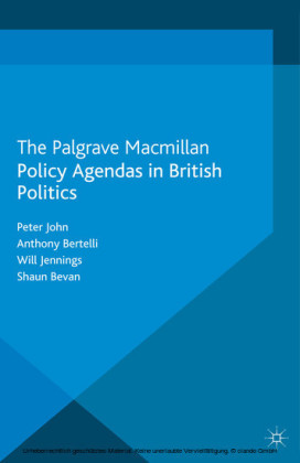 Policy Agendas in British Politics