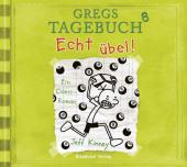 Gregs Tagebuch - Echt übel!, 1 Audio-CD Cover