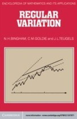 Regular Variation