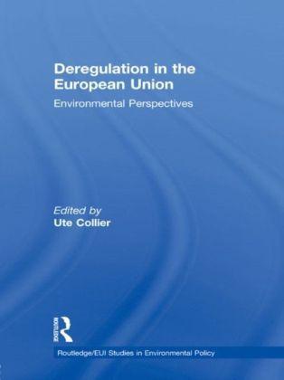Deregulation in the European Union