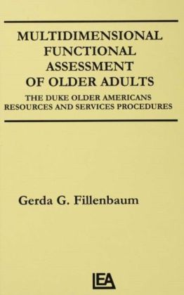 Multidimensional Functional Assessment of Older Adults