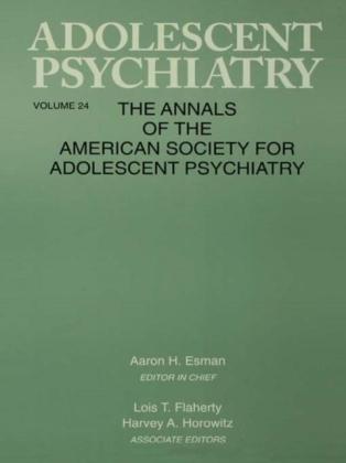 Adolescent Psychiatry, V. 24