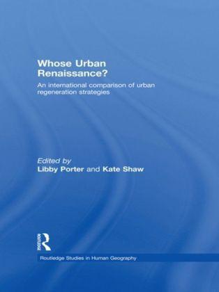 Whose Urban Renaissance?