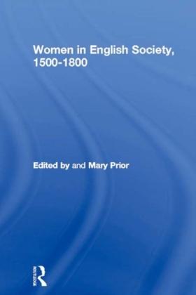 Women in English Society, 1500-1800