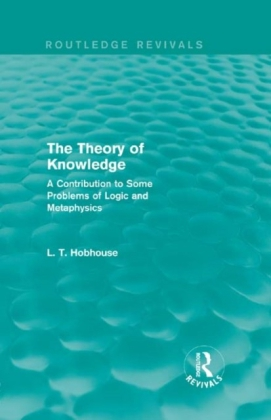 Theory of Knowledge (Routledge Revivals)