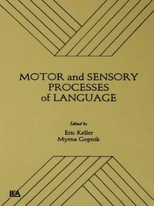 Motor and Sensory Processes of Language
