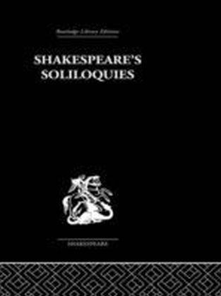 Shakespeare's Sililoquies
